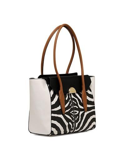 Nine West Omuz Çantası Zebra